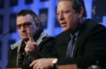 Bono Vox i Al Gore na panelu o klimatskim promjenama