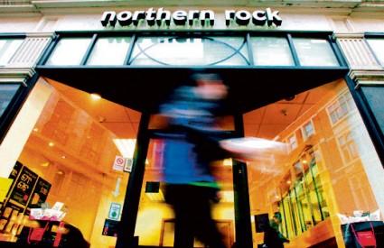 Banka Northern Rock najpogođenija je u Velikoj Britaniji