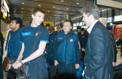 Mandžukić i Soldo prije odlaska na pripreme u Tursku
