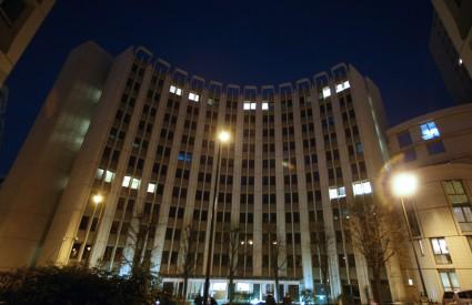 Sjedište financijske policije u Parizu, gdje se obrađuje slučaj malverzacije koja je banku koštala oko pet milijuna eura