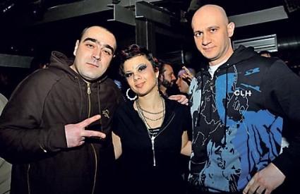 GENERAL WOO, Diyala i Igor Kolovrat na hip-hop partyju
