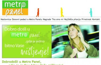 Kliknite na www.metropanel.com.hr i osvajate nagrade