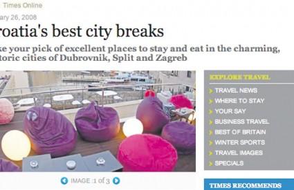 Britanski list donosi vrlo pohvalan specijal o turističkoj ponudi Hrvatske