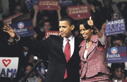 Devet dana prije 'super utorka', kada se predizbori održavaju u 22 savezne države, Obama osvojio više od 50 posto glasova