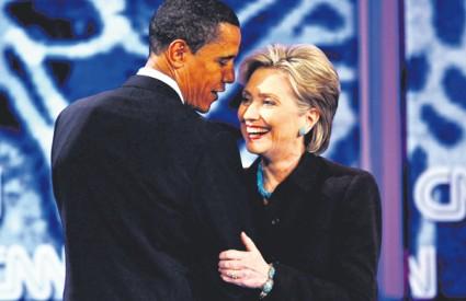 Clinton izgubila svu prednost pred Obamom, pokazuju ankete