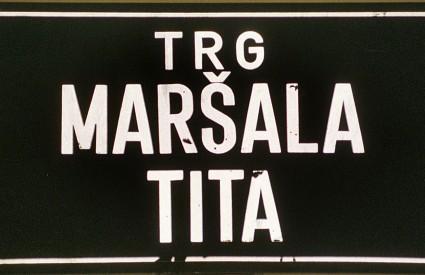 Tito i Tuđman dvije su povijesne osobe oko čijih se trgova zagrebačka javnost najviše podijelila