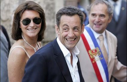 Cecilia i Nicolas Sarkozy nakon njegova izbora za predsjednika