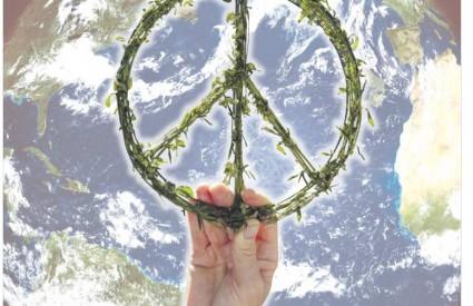 U vremenu ratova, kriznih žarišta i terorizma, čuveni 'peace' navršava pola stoljeća