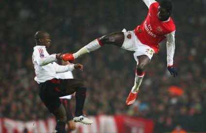 Napadač Arsenala Emmanuel Adebayor nalazi se u maloj golgeterskoj krizi. Nije zabio u zadnje tri utakmice