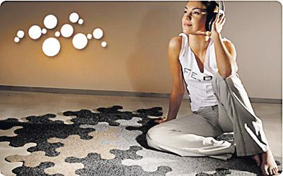 Na prometnim mjestima poput hodnika, dnevnih soba i stepenica treba biti izrazito kvalitetan tepih