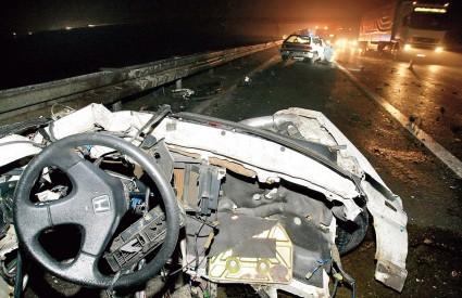 Prometne nesreće najčešće su petkom