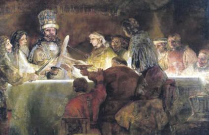 Rembrandtovo ulje na platnu nastalo je između 1661. i 1662. godine, a procijenjeno je na 78 milijuna eura