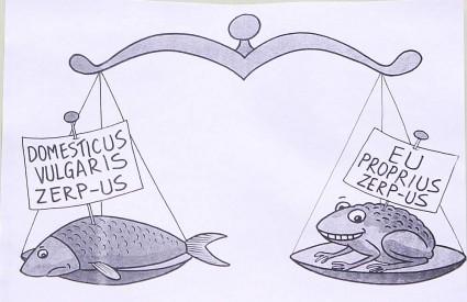 Sabornici su opet iskoristili karikature kako bi pokazali što misle o problemima oko ZERP-a