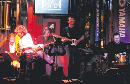 Stefan Wagner Group na sinoćnjem nastupu u BP Clubu