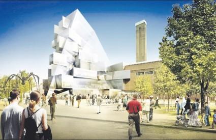Zgrada vrijedna 280 milijuna eura bit će otvorena 2012., u godini održavanja Olimpijade u Londonu