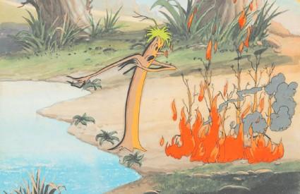 Među vraćenim originalima naći će se i setovi iz prvog animiranog filma u boji 'Cvijeće i drveće'
