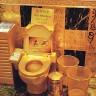 Hong Kong - WC od zlata