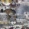 Norveška - Zgrada 'propala u zemlju'