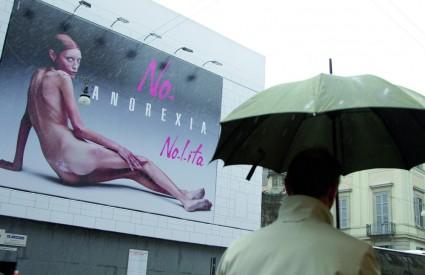 Lanjska talijanska kampanja protiv anoreksije u modnoj industriji