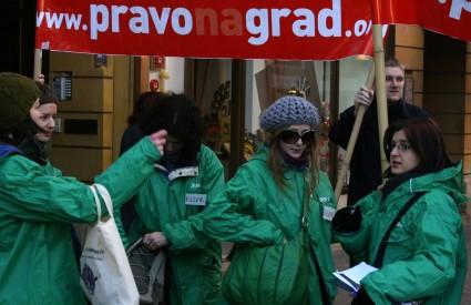 Aktivisti Prava na grad i Zelene akcije sumnjaju da je riječ o poslovnom triku