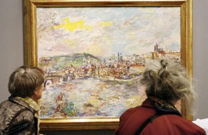 Na izložbi je predstavljeno oko 200 umjetničkih djela