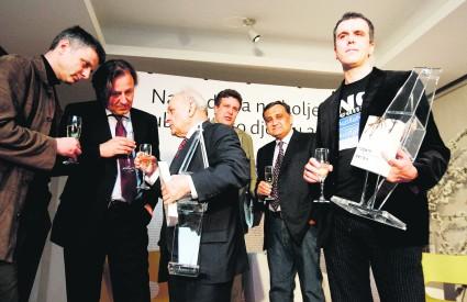Vodeći ljudi Europa Press Holdinga i nagrađeni pisci