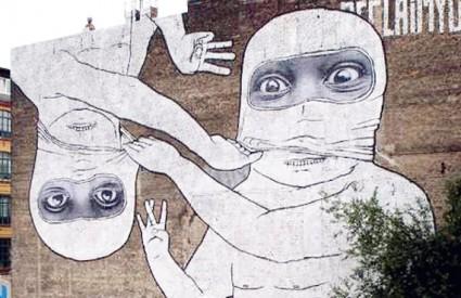 Talijan Blu također će oslikati jedan dio zida u Tateu
