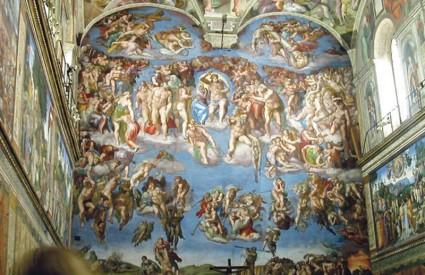 Konkurencija je u to vrijeme bila uistinu jaka, a Michelangelovi kolege Rafael i da Vinci jednako ljubomorni kao i sam majstor