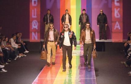 Nastup Amerikanaca Avirex oduševio je hrvatske modne sladokusce