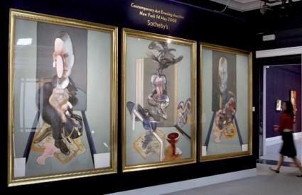Djelo britanskog umjetnika postalo je najskuplje djelo suvremene umjetnosti prodano na nekoj dražbi
