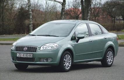 Fiat Linea ima zaobljene linije kao i Grande Punto, Bravo i Croma