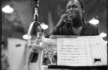 Miles Davis snimljen je 1959. u studiju gsje je snimao album