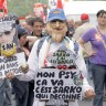 Sarkozy na udaru 700.000 štrajkaša