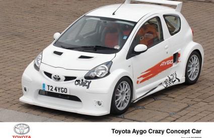 Aygo Crazy koncept konstruiran je za vožnju, a ne samo za pokazivanje na auto-salonu