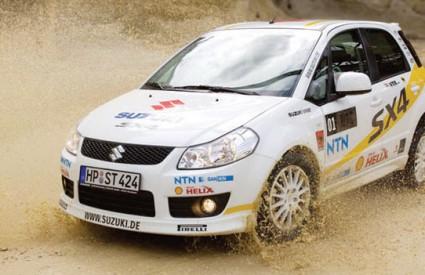 Suzuki 'civilnu' verziju SX4 WRC natjecateljskog rally auta za sada prodaje samo u Njemačkoj