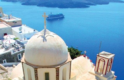 Na Santorini se zaputite u lipnju ili srpnju avionom iz Ljubljane