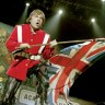 Iron Maiden igrali nogomet na stageu