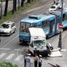 Teretnjak se zabio u tramvaj