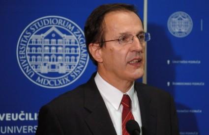 Aleksa Bjeliš, rektor zagrebačkog sveučilišta