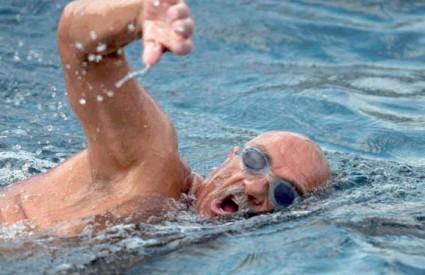 Otišao je majstor plivanja