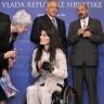 Paraolimpijci na prijemu kod premijera Sanadera