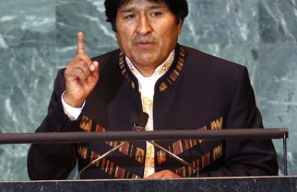 Evo Morales poznat je po ljubavi prema žvakanju lista koke