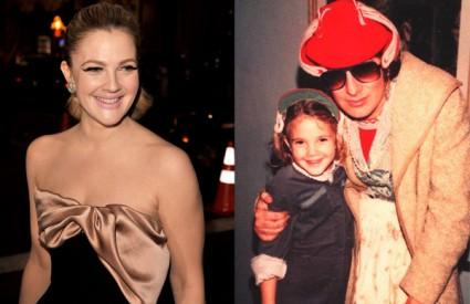 Drew Barrymore danas - i Drew Barrymore sa šest godina u društvu Stevena Spielberga