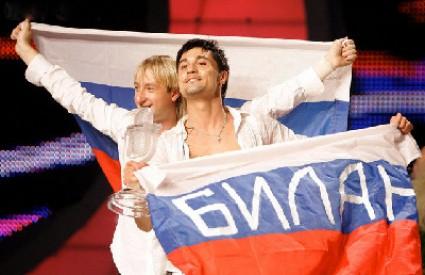 prošlogodišnji pobjednik Eurovizije: ruski predstavnik Dima