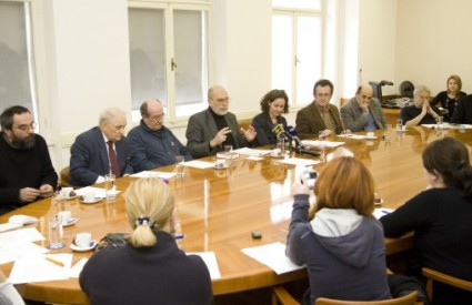 Predstavljanje programa nastupa hrvatskih književnika u ministarstvu kulture