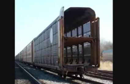 Vlakovi smrti kruže Amerikom