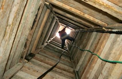 Tuneli su osnova opskrbe Gaze