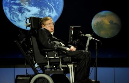 Stephen Hawking i dalje radi nesmanjenim žarom