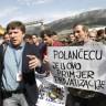 Prosvjed u splitskoj Željezari