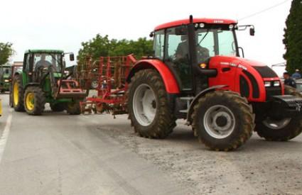 Traktori opet na prometnicama?